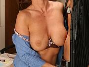 Big tit teacher seduces her student