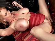 Big Titted Lynn Pussy Stretched Live