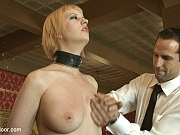 Bella Rossi and Cherry bdsm slaves