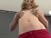 Erect nippled lactating blonde Lisa
