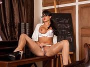 Sasha Kiss busty teacher