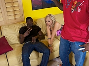 Katie Kox naughty with black buck