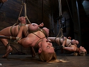 Katie Kox and Darling duo bondage