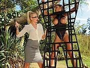 Danielle Maye lezdom spanking asian