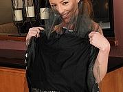 Busty brunette MILF Tamara Fox