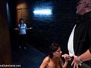 Alia Janine ass fucked in bondage