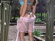 Big Titty Brunette Babe Amber Elise