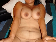 Chunky mature Asia with big boobs and a nice tight fat pussy