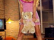 Heather Spytek posing in lingerie