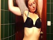 Gorgeous Teen In Hidden Shower