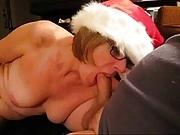 Granny Head #30 Down Mrs. Claus Throat