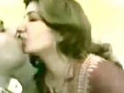 Hot Arab Girl kiss