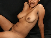 Pin ups of a pretty nicely titted lactating Latina called Rosa