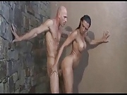 Rachel Starr gets fucked in the Shower