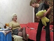 Granny love her little boyfrend