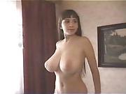 Massive boobed cute girl