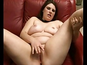 My Horny Fat Chubby Teen loves fingering her wet pussy