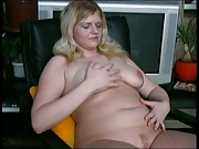 Cute Fat Chubby Teen GF showing her nice tits and body