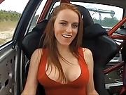 Sexy Lauren with Bouncing Boobs - short