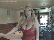 Cum obsessed well endowed wife with giant tits in red lingerie bj sex and facial