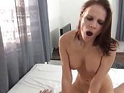 Hot german bruntette homemade porn nice tits - creampie