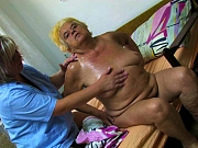 Hardcore sex party with very old crazy granny amazing