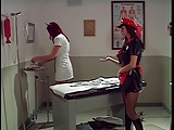 Big tits asian administered an cleaning by 2 smoking hot nurses