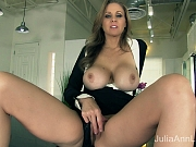 Julia Ann spreads open and begs for some of your cock