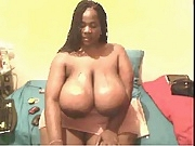 African female with bbw body