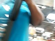 Ebony bbw gilf