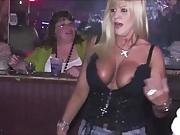 Milf Huge Boobs and nipples out