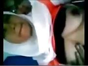 Malay jilbab boobs