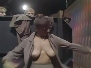 TV show (saggy tits nerdy woman changing clothes)