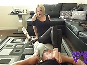 BALLBUSTING THE SUPER STAR FEMDOM BALL use Smother