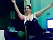Arab Bbw Girl Dancing