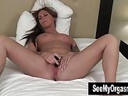Tattooed Bella Toying Pussy