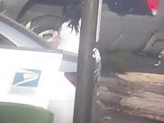 BBW Latina washing car part 3