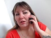 Fat ass plumper seduces stranger