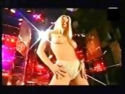 Karen White stripping for guys