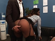 Classy bitches gets fucked side by side