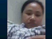 Filipina maid Suraida tits and masturbation