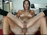 Two German hotties anal fucked