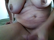 I love watching his cum fly!!