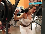 Yes!!! fitness hot ASS hot CAMELTOE 64