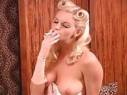 Tall Goddess Smoking