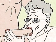 Comic - hot Grandma is horny