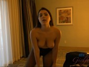 Valentina Nappi goes home with a pussy full of cum