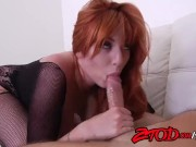 Redheaded Chick Lauren Phillips Pounded Hard