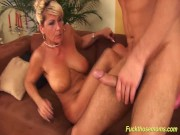 Extreme hairy big breast Milf fucked