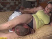 GG - Mixed Wrestling Headscissor Kiss